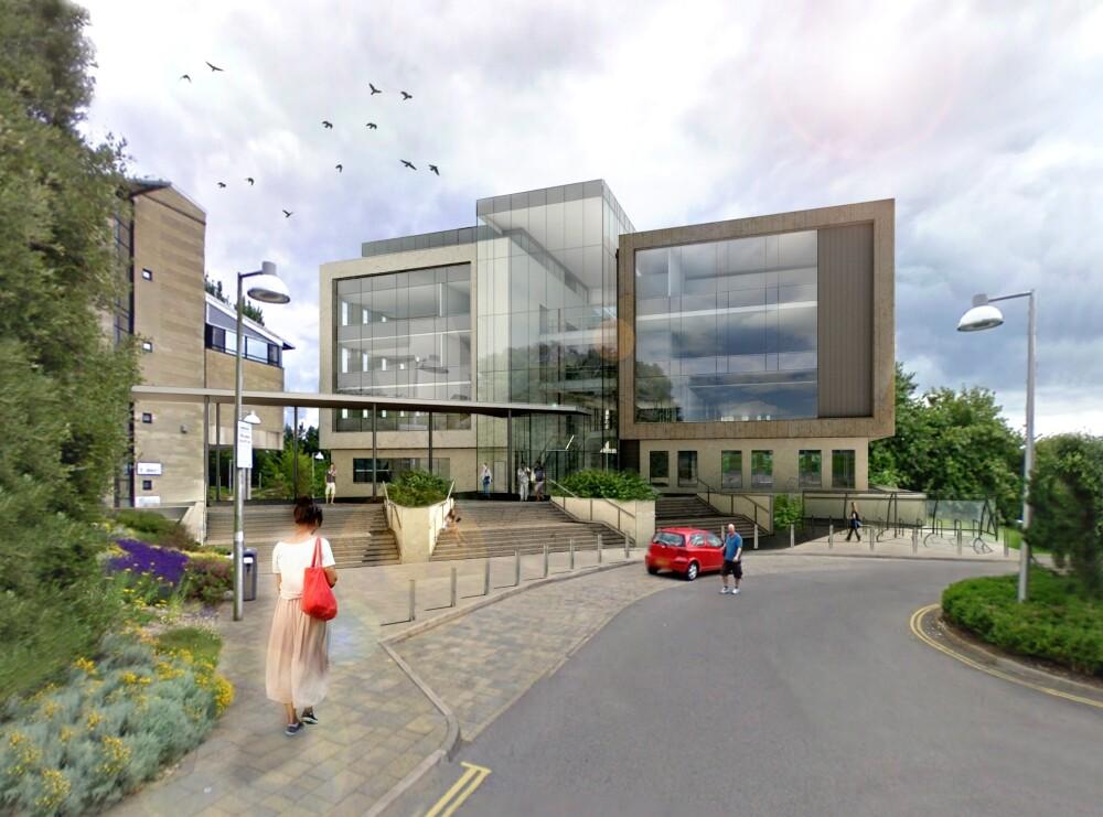 University of Bath 10 West Entrance