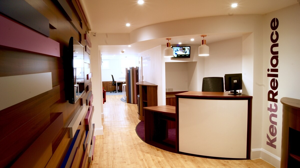 Kent Reliance Chichester Reception