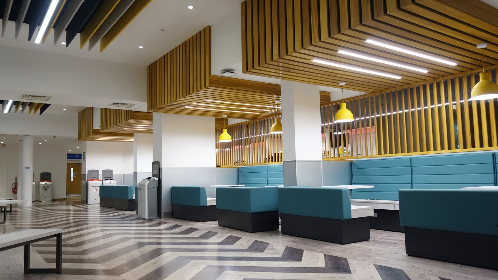 Barton Peveril College Design and supply of Furniture