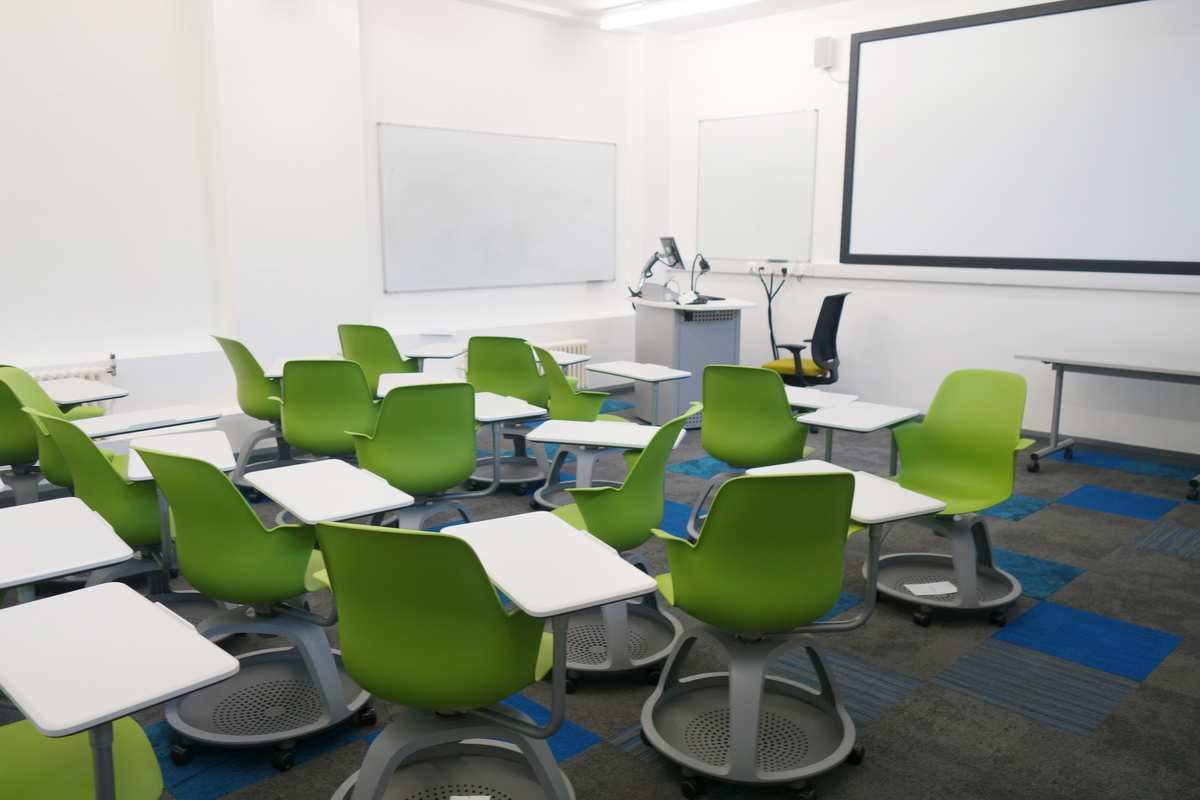Steelcase Node Chairs in Classroom
