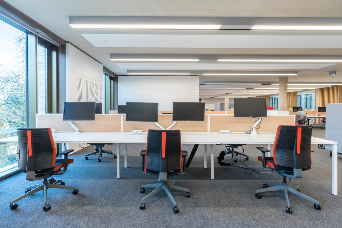 Cambridge University - Judge Business School - Office Furniture