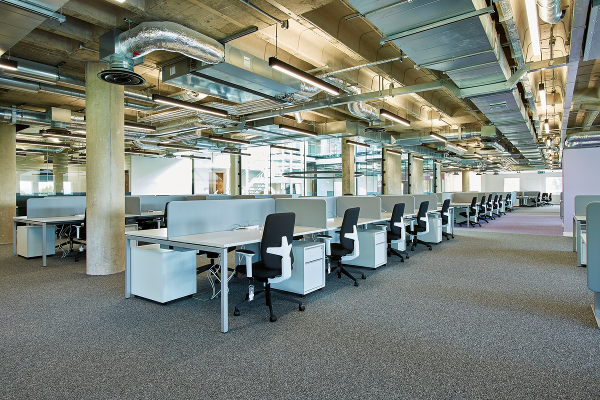 Bristol University - Great George Street Desking and Task Chairs