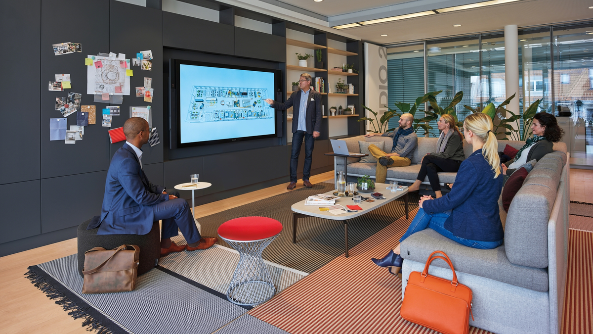 Steelcase Learning + Innovation Center in Munich