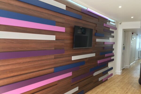 Kent Reliance Feature Wall