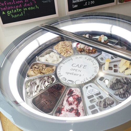 Baileys Artisan Gelato Interior Fit Out - Gelato Display