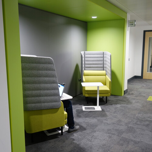 Oxford Brookes University - Clerci Building Private Working furniture