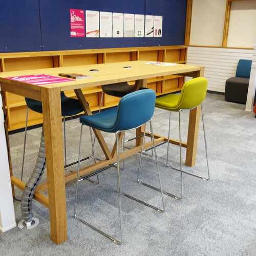Oxford Brookes University - Wheatley Campus group working area