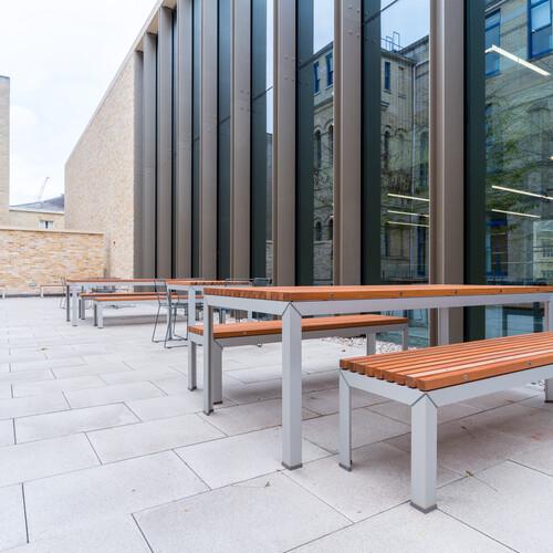 Cambridge University - Judge Business School - Outdoor Furniture