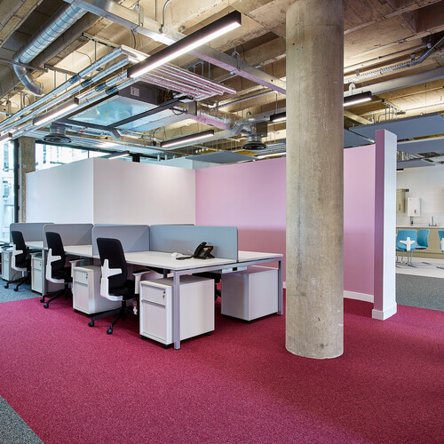 Bristol University - Great George Street Workstations and Task Chairs