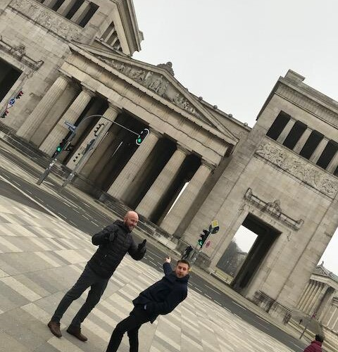 The Portsdown Team in Munich